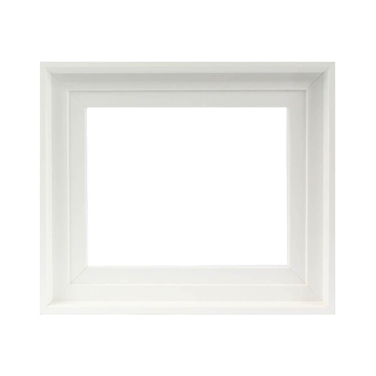 caisse am ricaine blanche cadre pour tableau cadres en stock. Black Bedroom Furniture Sets. Home Design Ideas