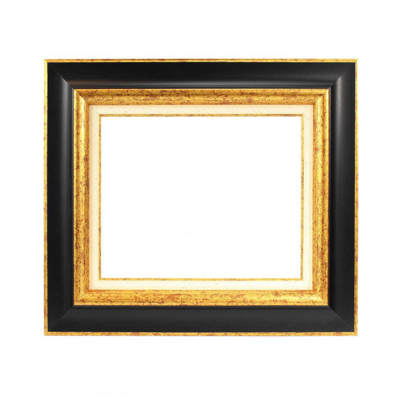 capri noir or cadre pour tableau cadres en stock. Black Bedroom Furniture Sets. Home Design Ideas