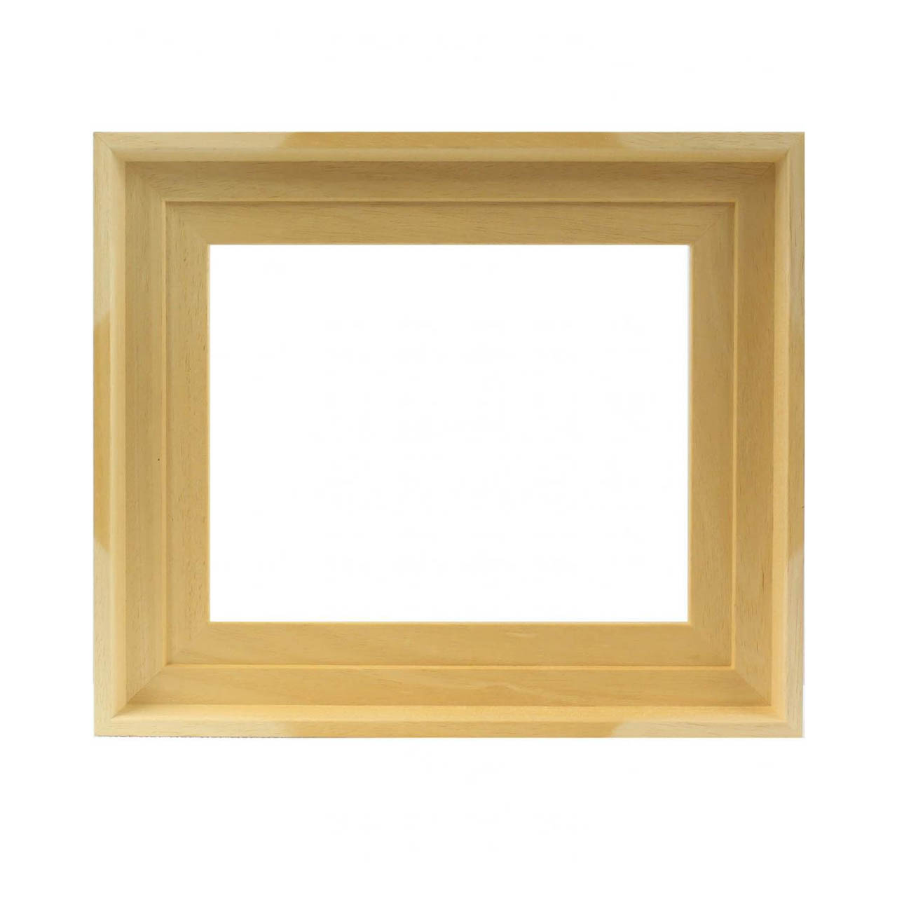 caisse am ricaine naturelle cadre pour tableau cadres en stock. Black Bedroom Furniture Sets. Home Design Ideas