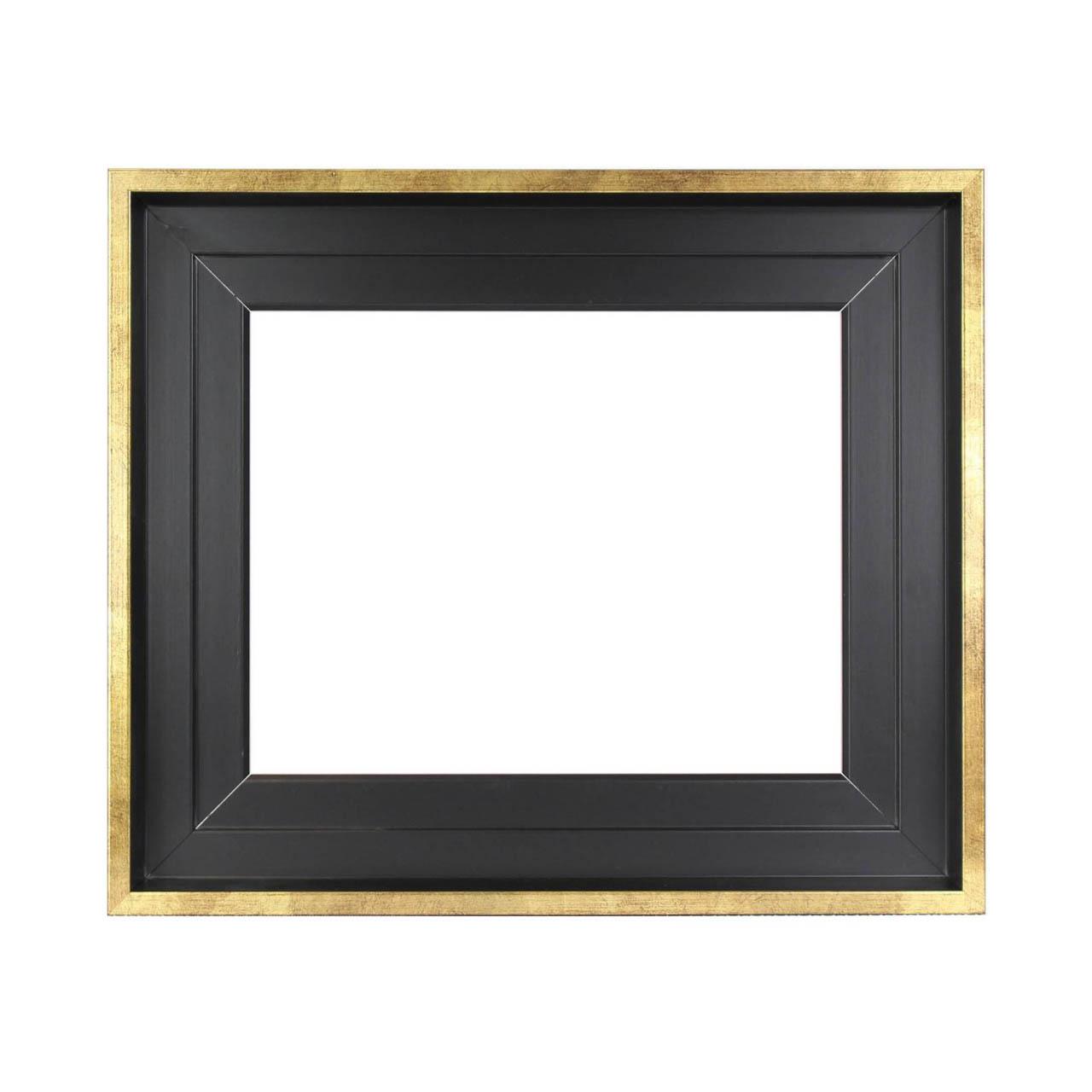 caisse am ricaine noir or cadre pour tableau cadres en stock. Black Bedroom Furniture Sets. Home Design Ideas
