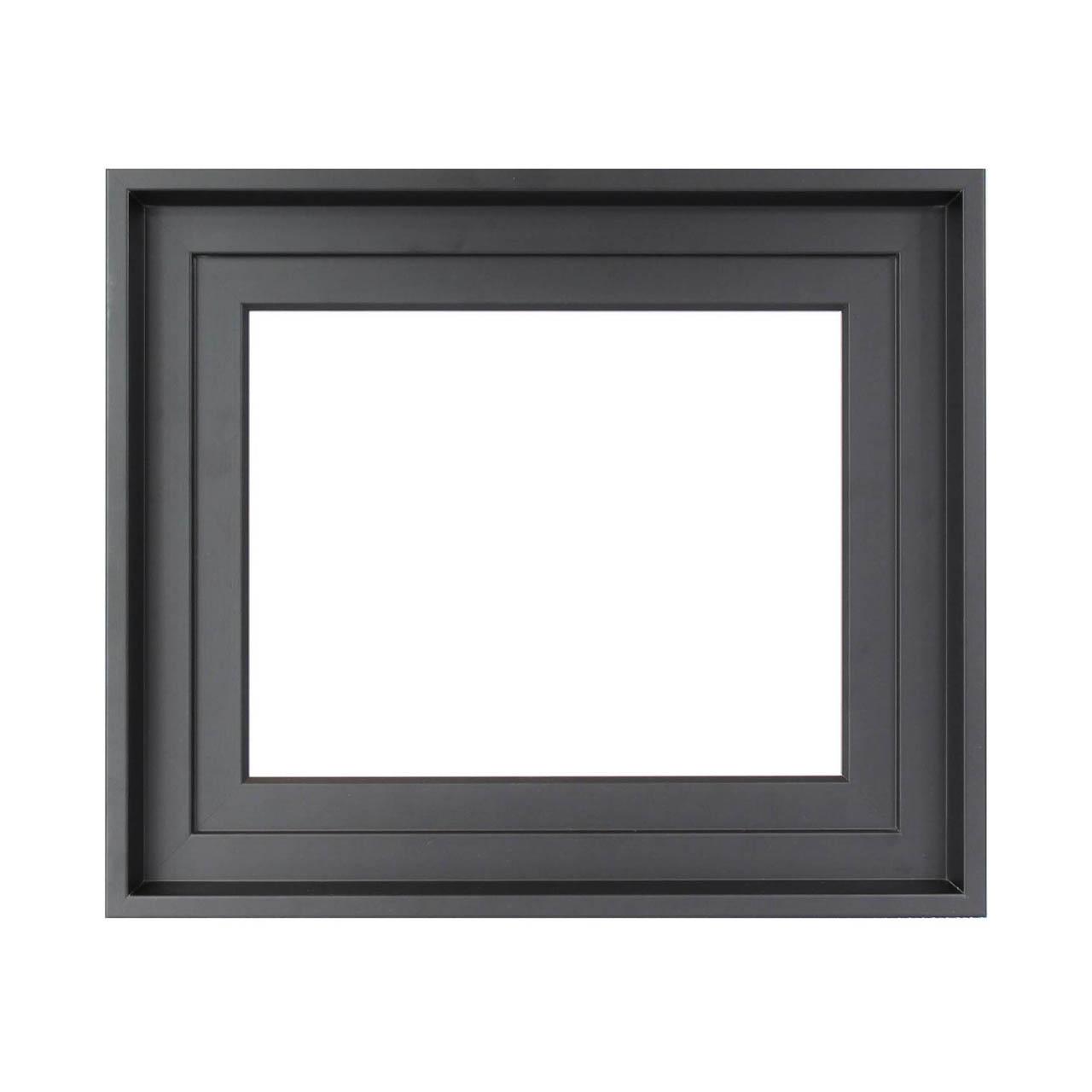 caisse am ricaine noire cadre pour tableau cadres en stock. Black Bedroom Furniture Sets. Home Design Ideas